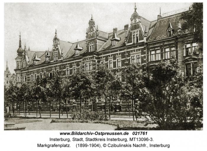 Markgrafenplatz, Insterburg