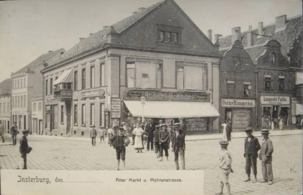 Alter Markt u. Mühlenstrasse, Insterburg