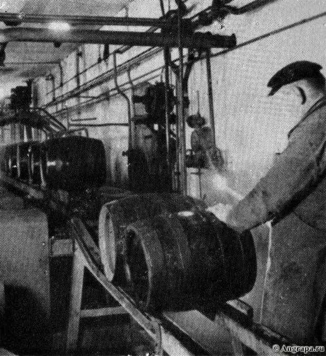 Bierfass für Bierfass wurde sorgfältig geprüft, Insterburg
