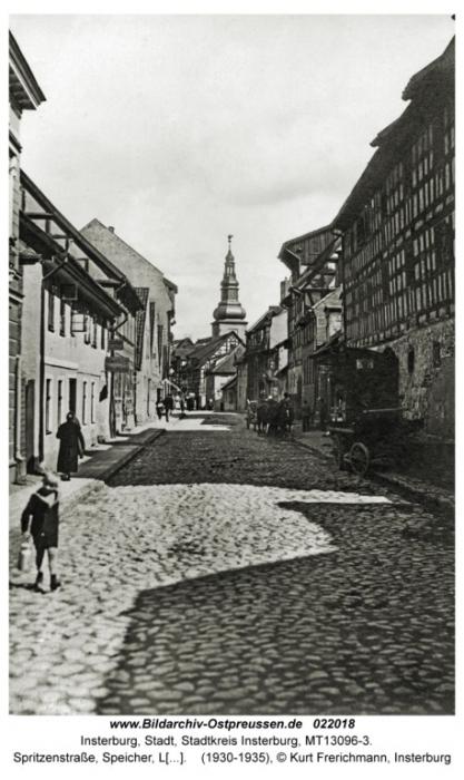 Spritzenstrasse, Speicher, Insterburg