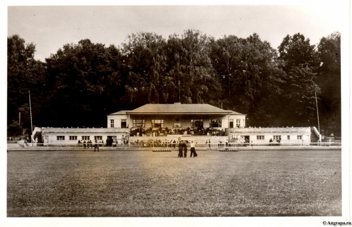 Sportplatztribüne, Insterburg