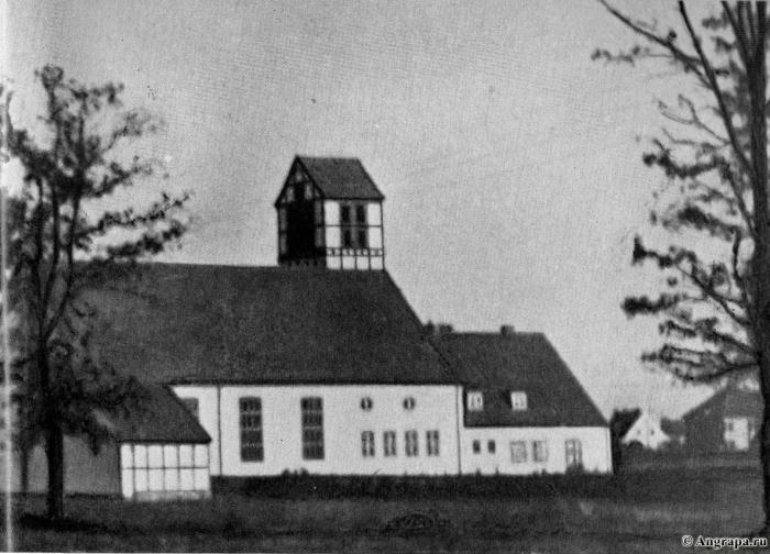 Die Stadtrandsiedlung Sprindt. Die Kirche, Insterburg