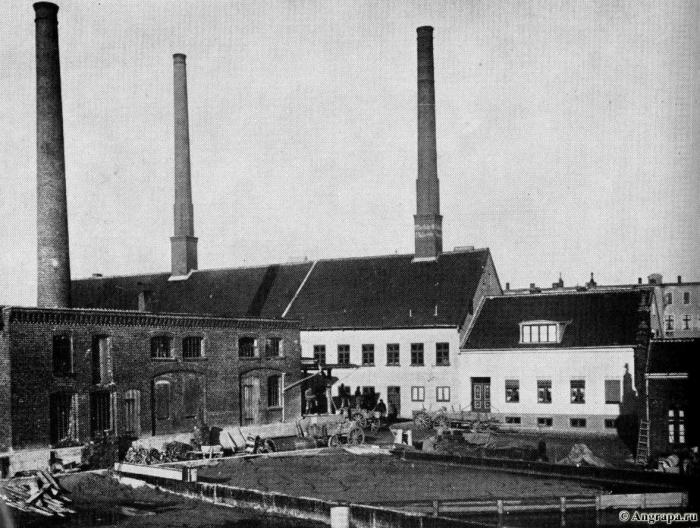 Ofenfabrik Friedrich Gallmeister in der Tunnelstrasse, Insterburg