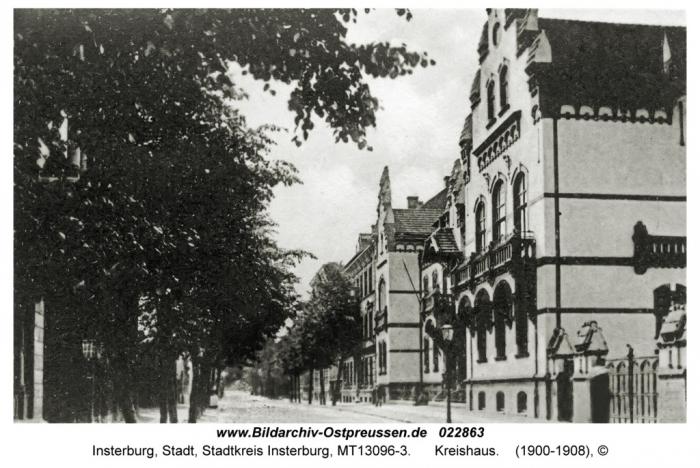 Kreishaus, Insterburg