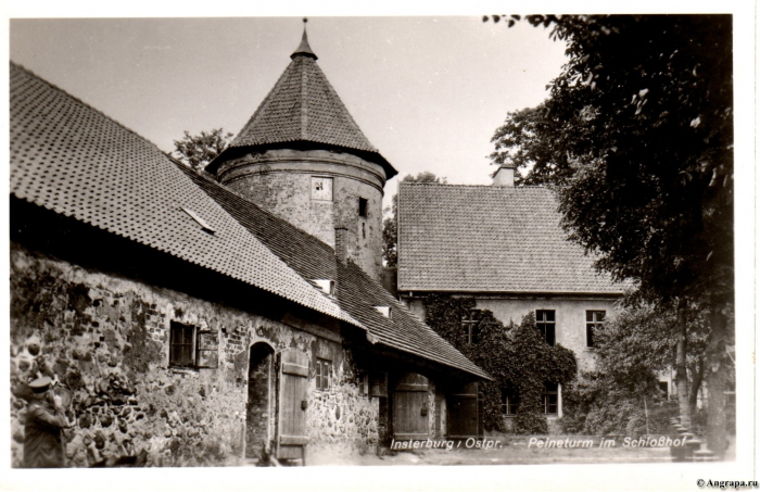 Der Peineturm im Schlosshof, Insterburg