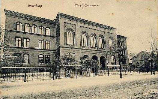 Königl. Gymnasium, Insterburg