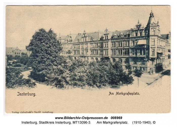Am Markgrafenplatz, Insterburg