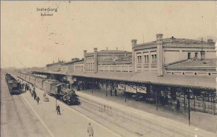 Bahnhof, Insterburg