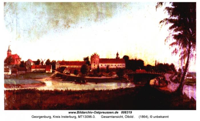 Gesamtansicht, Georgenburg, Kreis Insterburg