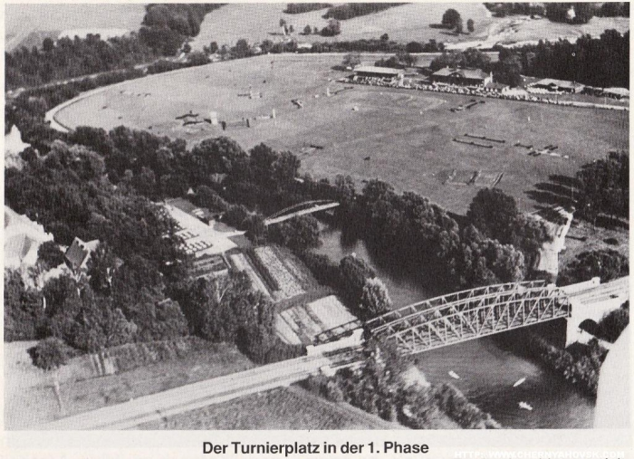 Der Turnierplatz in der 1. Phase, Insterburg