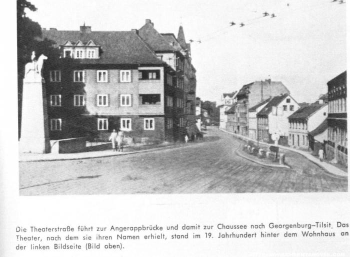Theaterstrasse, Insterburg