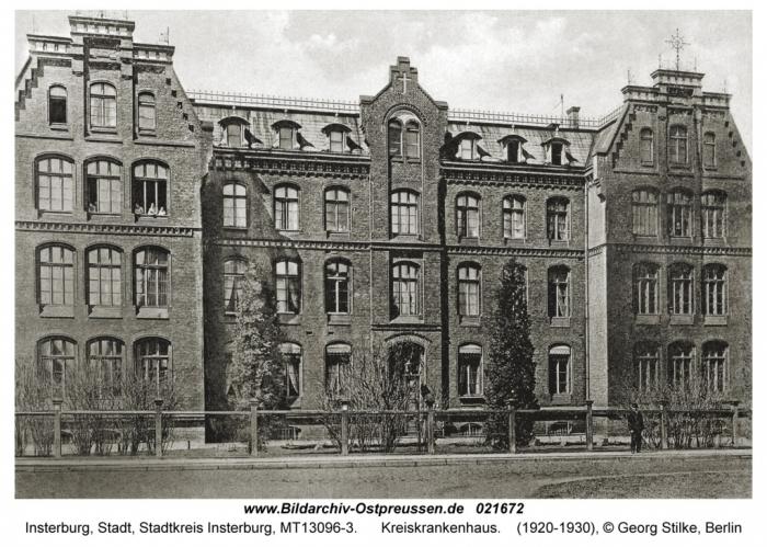 Kreiskrankenhaus, Insterburg