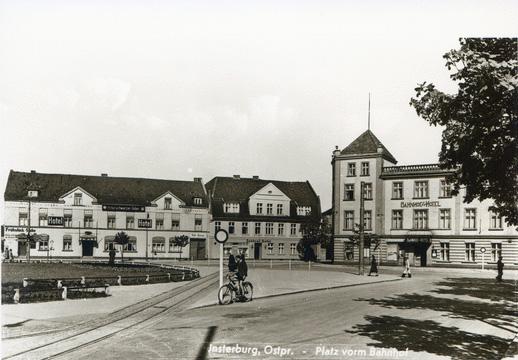 Platz vorm Bahnhof, Insterburg