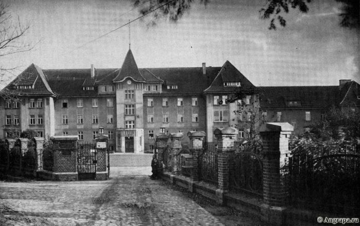 Die Provinzial-Landesfrauenklinik und Hebammen-Lehranstalt an der Augustastrasse, Insterburg