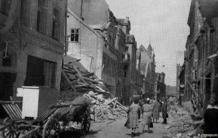 27. Juli 1944. Generalstrasse, Insterburg