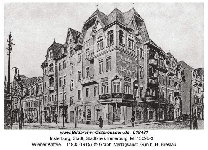 Wiener Kaffee, Insterburg