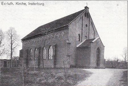 Evangelische-Luther Kirche, Insterburg