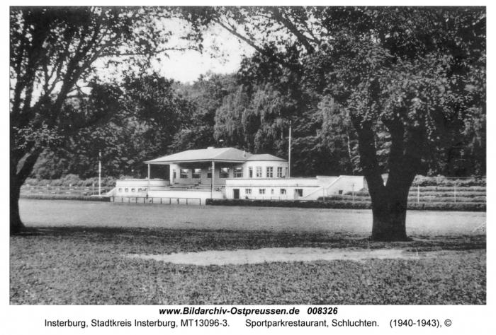 Sportparkrestaurant, Schluchten, Insterburg