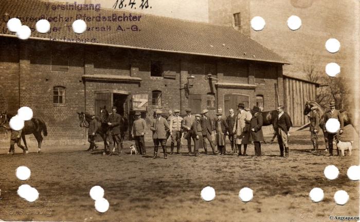 Vereinigung ostpreussischer Pferdezüchter Insterburger Tattersall A.-G., Insterburg
