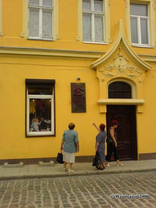 Дом на улице Пионерской, в котором останавливался Наполеон, Черняховск