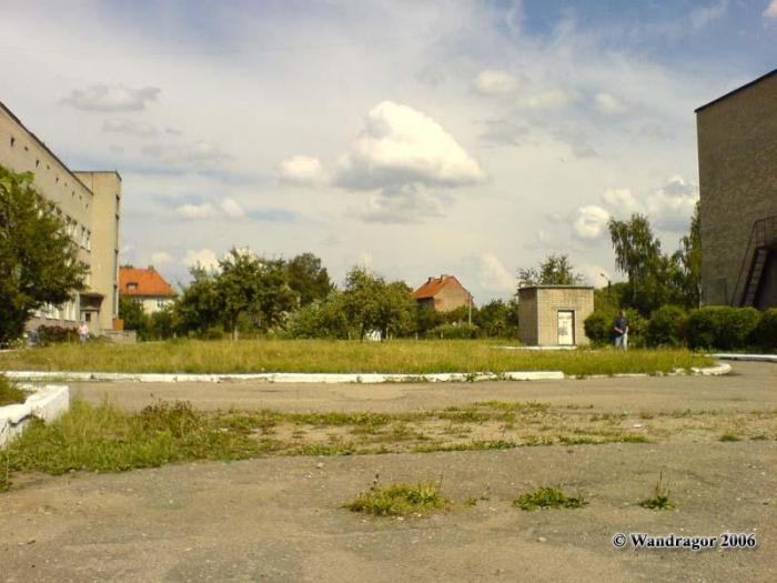 На территории военного госпиталя (улица Пушкина), Черняховск