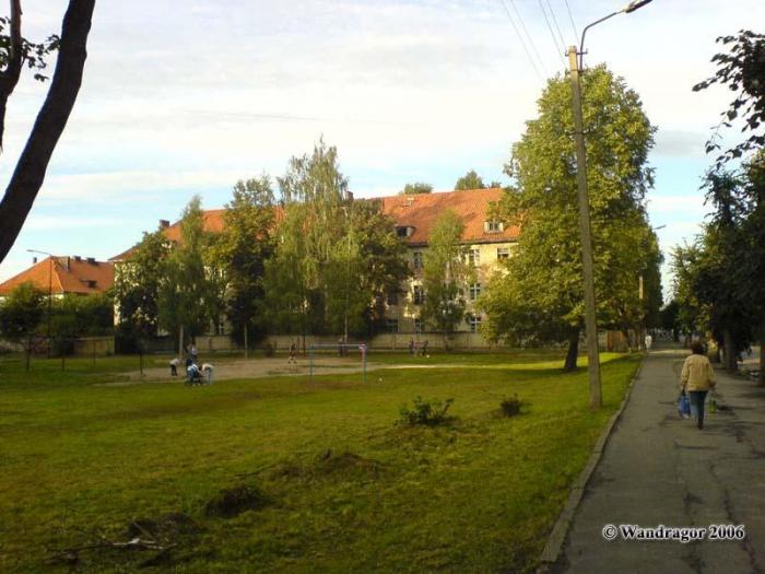 Улица Ленинградская (рядом с жилым микрорайоном по улице Красноармейская), Черняховск