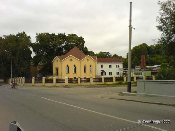 Перекресток улиц Льва Толстого и 22 Января, Черняховск