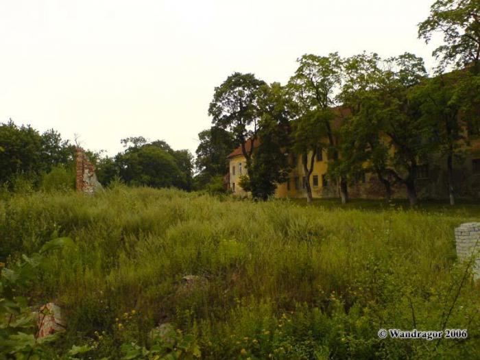 Вид на замок Инстербург (улица Замковая), Черняховск