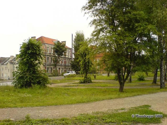 Вид на улицу Партизанскую, Черняховск