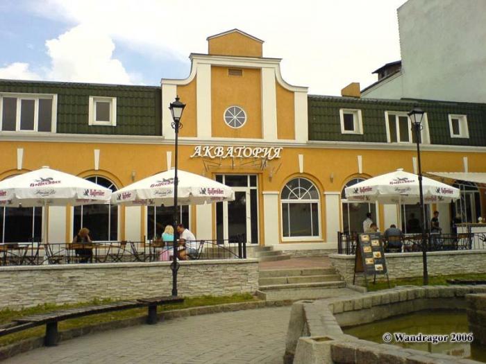Кафе «Акватория» (улица Ленина), Черняховск
