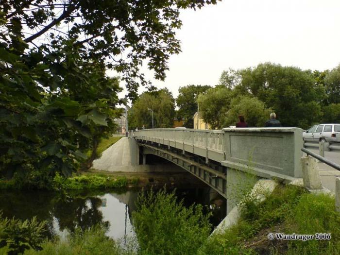 Автомобильный мост через реку Анграпа, Черняховск
