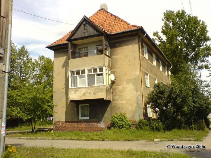 Здание на улице Пушкина, Черняховск