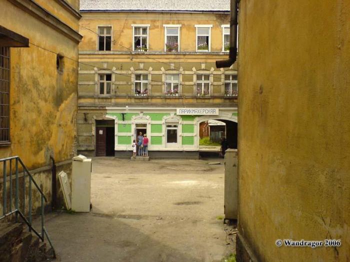Рядом со зданием военного комиссариата (улица Ленина), Черняховск