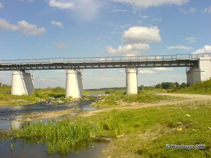 Железнодорожный мост через реку Инструч, Черняховск