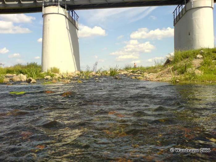 Река Инструч (рядом с железнодорожным мостом), Черняховск
