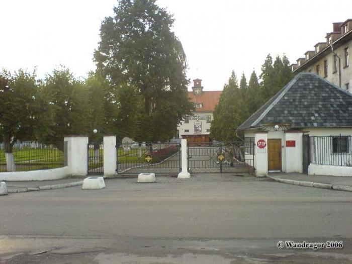 Воинская часть, КПП. Улица Ленинградская, Черняховск