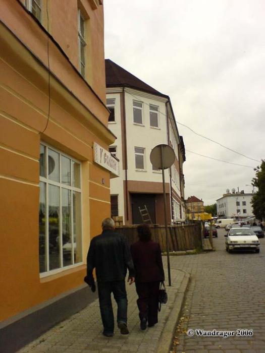 Улица Садовая (недалеко от Центрального рынка), Черняховск
