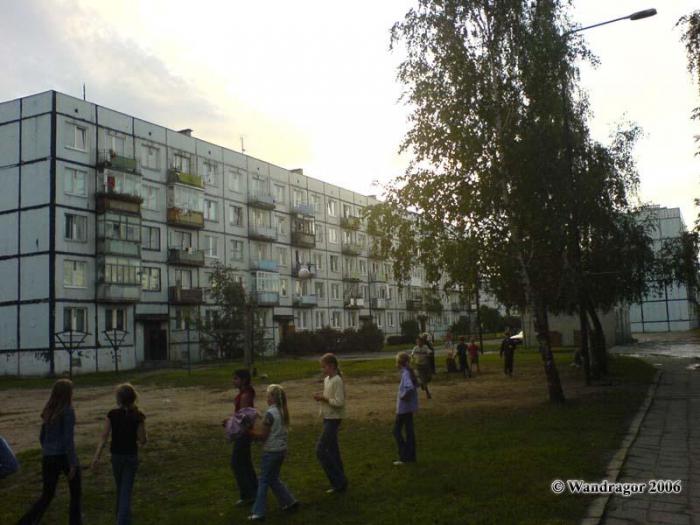 Жилой микрорайон по улице Красноармейская, Черняховск