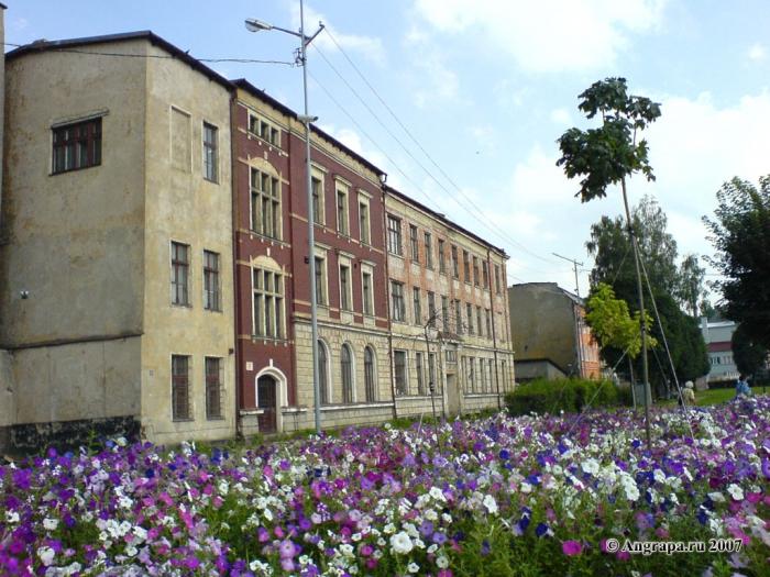 Здания (переулок 2й-Госпитальный), Черняховск