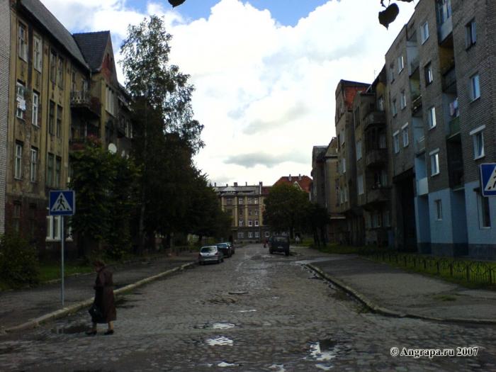 Улица Гвардейская, Черняховск