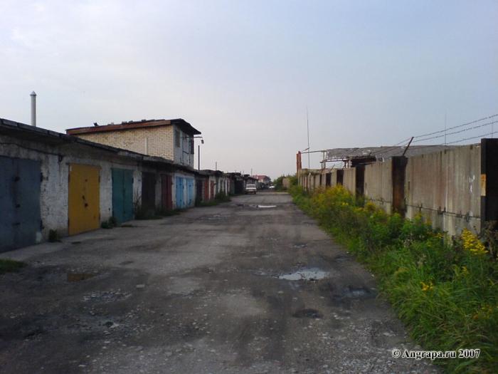 Гаражный кооператив «Колесо» (район водоканала (улица Черняховского)), Черняховск