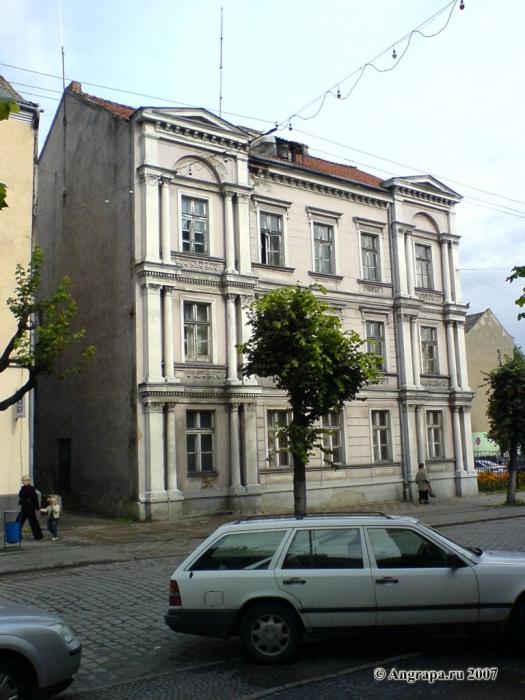 Здание вневедомственной охраны (улица Ленина), Черняховск