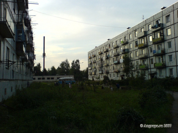 Улица Ленинградская, двор дома 16/6, Черняховск