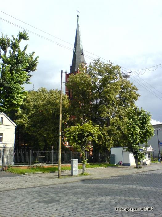 Католическая церковь (улица Ленина), Черняховск