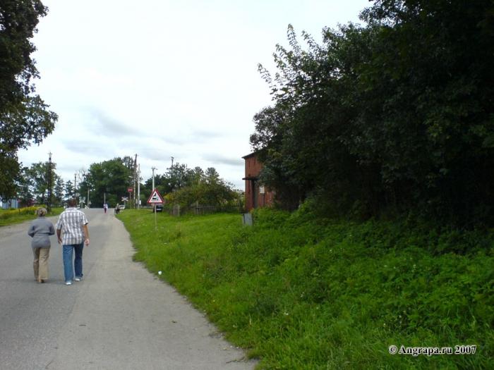 Улица Черняховского (недалеко от железнодорожного переезда), Черняховск
