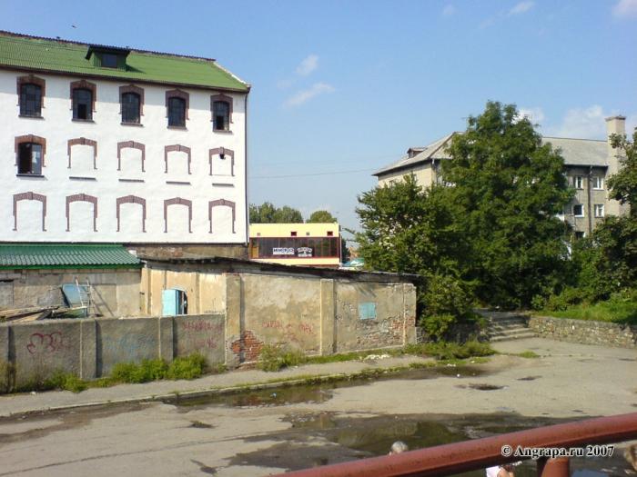 Улица Парковая, Черняховск