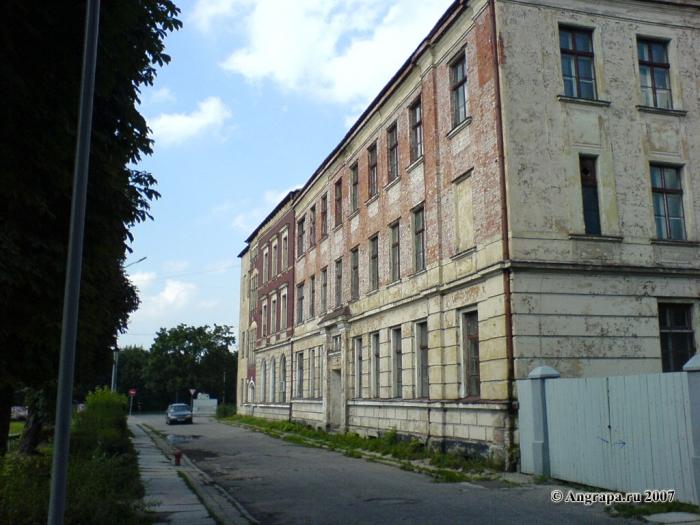 Переулок 2-й Госпитальный, Черняховск