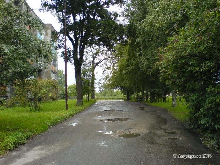 Улица Красноармейская, Черняховск