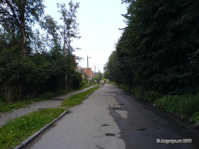 Улица Казарменная, Черняховск