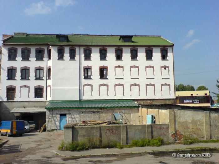 Вид на здание (вид с улицы Парковой), Черняховск